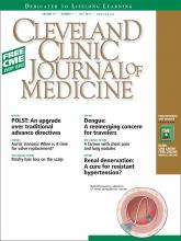 Cleveland Clinic Journal of Medicine: 79 (7)