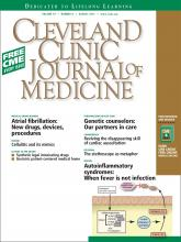 Cleveland Clinic Journal of Medicine: 79 (8)