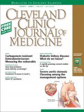 Cleveland Clinic Journal of Medicine: 80 (4)