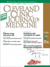 Cleveland Clinic Journal of Medicine: 81 (10)