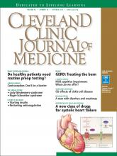 Cleveland Clinic Journal of Medicine: 82 (10)