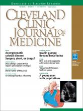 Cleveland Clinic Journal of Medicine: 82 (12)