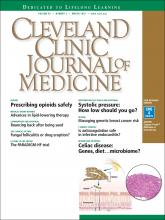 Cleveland Clinic Journal of Medicine: 83 (3)
