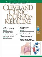 Cleveland Clinic Journal of Medicine: 83 (7)