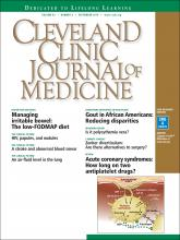 Cleveland Clinic Journal of Medicine: 83 (9)