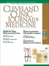 Cleveland Clinic Journal of Medicine: 84 (12)