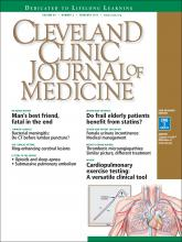 Cleveland Clinic Journal of Medicine: 84 (2)