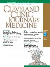 Cleveland Clinic Journal of Medicine: 84 (5)