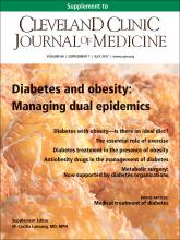 Cleveland Clinic Journal of Medicine: 84 (7 suppl 1)