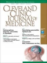 Cleveland Clinic Journal of Medicine: 84 (8)