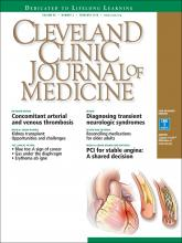 Cleveland Clinic Journal of Medicine: 85 (2)