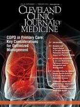 Cleveland Clinic Journal of Medicine: 85 (2 suppl 1)