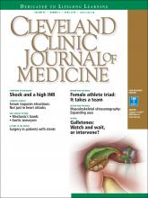 Cleveland Clinic Journal of Medicine: 85 (4)