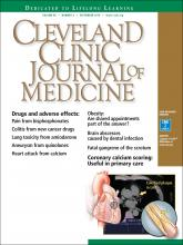 Cleveland Clinic Journal of Medicine: 85 (9)