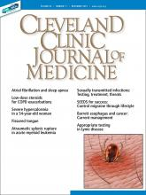 Cleveland Clinic Journal of Medicine: 86 (11)