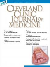 Cleveland Clinic Journal of Medicine: 86 (12)