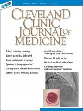 Cleveland Clinic Journal of Medicine: 86 (4)