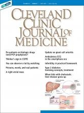 Cleveland Clinic Journal of Medicine: 86 (8)
