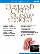 Cleveland Clinic Journal of Medicine: 87 (3)