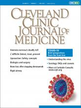 Cleveland Clinic Journal of Medicine: 87 (6)