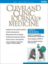 Cleveland Clinic Journal of Medicine: 87 (8)