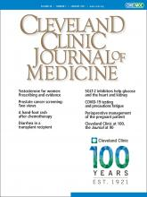 Cleveland Clinic Journal of Medicine: 88 (1)