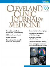 Cleveland Clinic Journal of Medicine: 88 (9)